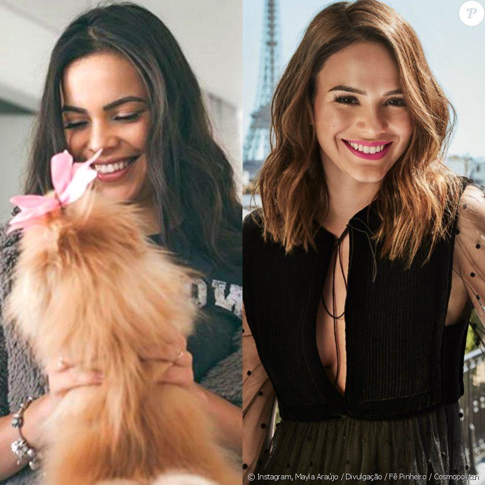 Gêmea de Emilly, ex-BBB Mayla é comparada a Bruna Marquezine em foto ... 41ad721cb1