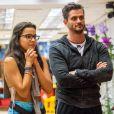 Ex-BBB Marcos Harter descartou reatar romance com Emilly Araújo