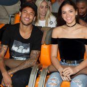 Neymar curte homenagem de Xuxa para Bruna Marquezine no Instagram