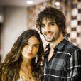 Ritinha (Isis Valverde) e ncantou Ruy (Fiuk) e se casou com ele na novela 'A Força do Querer'