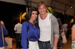 Fashion Rio: Thor Batista leva a namorada, Paola Leça, para conferir desfiles
