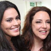 Letícia Lima ganha beijo de Ana Carolina e se declara: 'Eu te amo, meu amor'