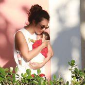 Yanna Lavigne mostra rosto da filha, Madalena, em viagem ao RS: 'Pacotinho'