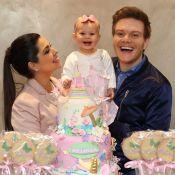 Thais Fersoza e Michel Teló fazem festa no 1º aniversário de Melinda: 'Princesa'