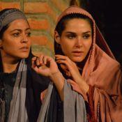 Carol Castro e Fernanda Machado ensaiam 'Paixão de Cristo', em Pernambuco