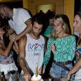 Bruno Gagliasso comemora o aniversário de 32 anos em Fernando de Noronha