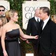 Kate Winslet se declarou para Leonardo DiCaprio em premiação: 'Eu amo você com todo meu coração, eu realmente amo'
