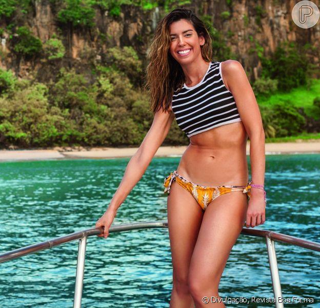 Camila Coutinho define corpo com reeducação alimentar: 'O difícil é a quantidade'