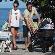'É a cara da mãe', opinou Bruno Gissoni sobre semalhança da filha com Yanna Lavigne