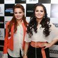 'Chegamos a fazer 31 shows no mês', contou a dupla Maiara e Maraísa