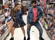 Larissa Manoela imita Anitta em clipe e dança 'Paradinha' em supermercado. Vídeo