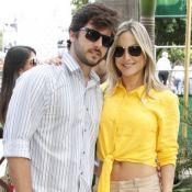 Claudia Leitte e o marido, Márcio Pedreira, caem durante dança 'até o chão'