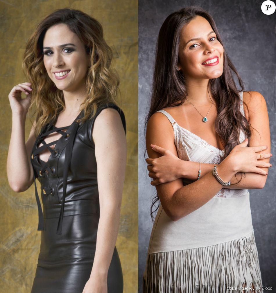 No Twitter, Tatá Werneck contou que Emilly Araújo e a irmã, Mayla, foram de penetra a sua festa de aniversário