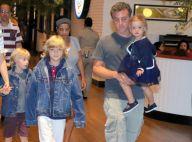 Luciano Huck posta foto com os filhos: 'Todos os dias me sinto no Dia dos Pais'