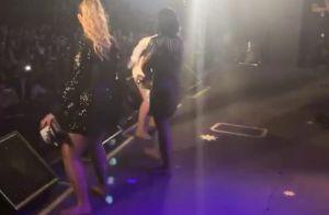 Marília Mendonça, solteira, dança funk em show com Maiara e Maraísa. Vídeo!