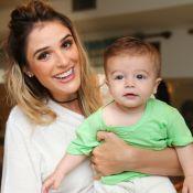 Rafa Brites detalha fim de amamentação do filho, Rocco: 'Ele perdeu o interesse'