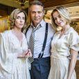 Celina (Barbara França) é filha de Bernardo (Nelson Freitas) e Alzira (Deborah Evelyn) na nova novela 'Tempo de Amar', a sucessora de 'Novo Mundo'