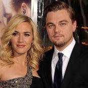 Leonardo DiCaprio e Kate Winslet, apontados como casal, curtem piscina na França