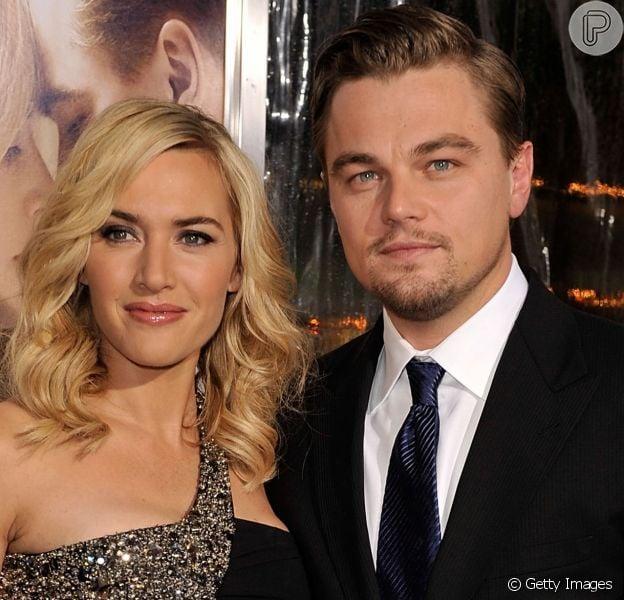 Leonardo DiCaprio e Kate Winslet, apontados como casal, curtiram piscina em Saint-Tropez, na França