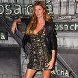 Gisele Bünchen é estrela da nova campanha da Rosa Chá e esteve no lançamento da coleção da marca, em São Paulo, nesta quarta-feira, 16 de agosto de 2017