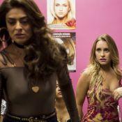 Carla Diaz cai no tapa com Juliana Paes em novela: 'Muito puxão de cabelo'