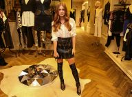 Marina Ruy Barbosa usa look de R$ 6,7 mil com bota overknee e couro: 'Ousei'