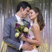 Veja fotos do casamento de Luiza (Camila Queiroz) e Eric na novela 'Pega Pega'