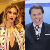 Fernanda Lima, chamada de 'magrela' por Silvio Santos, rebate: 'Deve respeito'