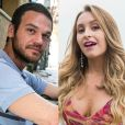 Rubinho (Emílio Dantas) flerta com Carine (Carla Diaz), na novela 'A Força do Querer'