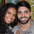 Aline Dias e Rafael Cupello serão pais de Bernardo. 'Já já teremos o Bernardo brincando com a Maria', escreveu Deborah Secco, mãe de Maria Flor