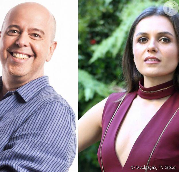 Alex Escobar saiu em defesa de Monica Iozzi após apresentadora ser vaiada no 'PopStar' deste domingo, 20 de agosto de 2017