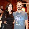 Thaila Ayala e Paulo Vilhena não se cumprimentaram durante a 45º edição do Festival de Cinema de Gramado