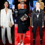 Looks preto e branco reinam entre famosas no red carpet do Festival de Gramado