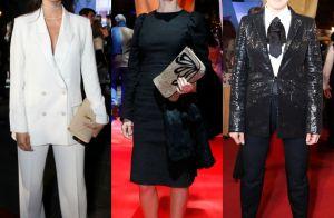 Looks preto e branco reinam entre famosas no red carpet do Festival de Gramado