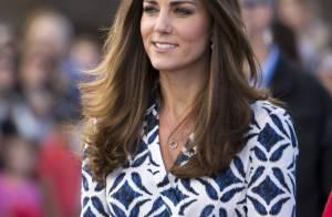Vestido usado por Kate Middleton durante viagem esgota em oito minutos