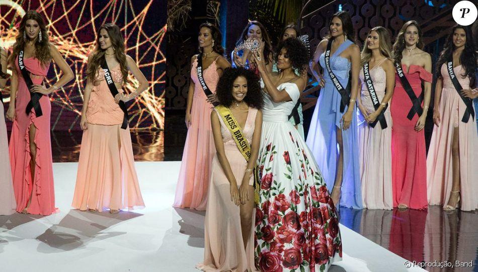 Monalysa Alcântara foi alvo de críticas na web ao ganhar o Miss Brasil 2017: 'Ao dar a vitória à Miss Piauí e não à Miss Rio Grande do Sul, eles pensaram nas chances de a Miss Brasil vencer o Miss Universo?'