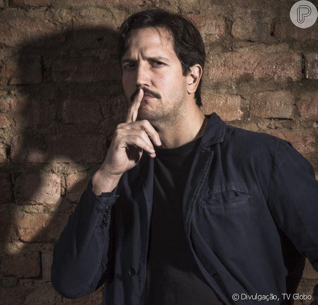 Vladimir Brichta viverá o detive Zózimo na série 'Cidade Proibida', com estreia prevista na TV Globo para setembro de 2017