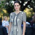 O vestido Fabiana Milazzo usado por Vera Viel no segundo dia da São Paulo Fashion Week está à venda no site da marca por R$ 5.501