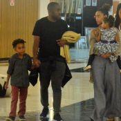 Pequenos estilosos! Lázaro Ramos e Tais Araújo passeiam com filhos no RJ. Fotos!