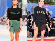 Isabeli Fontana e Izabel Goulart usam looks semelhantes com suéter em red carpet