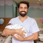 Ricardo Pereira é pai de novo! Nasce Julieta, 3ª filha do ator: 'Eufóricos'