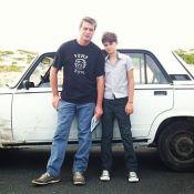 Fábio Assunção atua com o filho no filme 'A Magia do Mundo Quebrado'. Fotos!