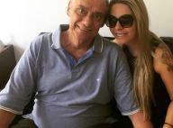 Namorada apoia luta de Marcelo Rezende contra o câncer: 'Juntos nessa caminhada'