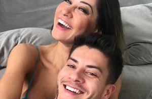 Arthur Aguiar elogia Mayra Cardi em aniversário: 'Você é luz, amor e alegria'