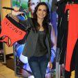 Pentacampeã mundial de jiu-jitsu, Kyra Gracie lançou sua coleção de moda fitness