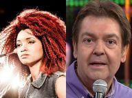 Opinião de Faustão sobre cabelo de bailarina de Anitta gera revolta na internet