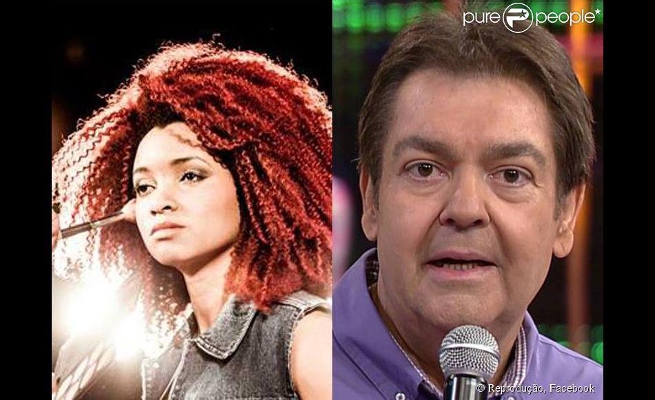 Comentário de Faustão sobre cabelo de bailarina de Anitta causa revolta na internet (22 de abril de 2014)