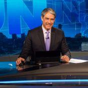 William Bonner quebra pé e se afasta do 'Jornal Nacional': 'Segunda o tio volta'