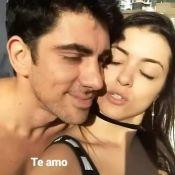 Marcelo Adnet comemora aniversário de 36 anos com namorada, Patrícia: 'Te amo'