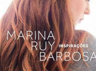 Marina Ruy Barbosa exibe capa de seu livro e rebate crítica: 'Futilidade?'